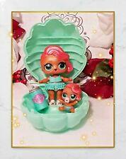 LOL Surprise Doll Treasure Baby Big & Lil Sis Mermaid Clamshell & Accessories