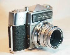 appareil photo ancien AGFA selectaflex - agfa color solinar 50mm 1:2.8