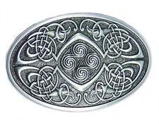 Buckle Keltische Knoten, Keltenknoten, Celtic, Gürtelschnalle, Line Dance Silber