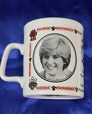 Charles & Diana Wedding Mug Lady Di Royal Family <HGR>