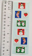 Mrs Grossman CHRISTMAS STAMPS - Strip of Christmas Seals Stickers