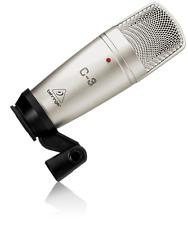 BEHRINGER C-3 Large Diaphragm Condenser Microphone - Studio Recording