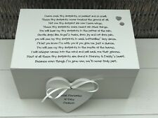 Personalised Memory Box ~ BABY LOSS ~ Any Name ~ Bereavement In Memory Of