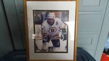 Autographed Adam Oates framed and matted picture with COA