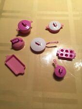 Barbie Pots And Pans Mini, Mattel