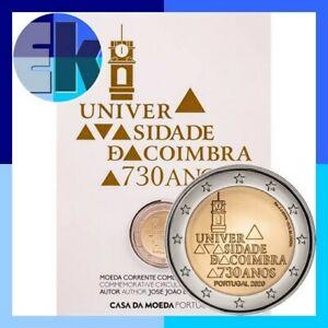 Ek // 2 euro BU Portugal 2020 730 ans de l'Université Coimbra : Nouveau