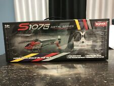 Syma Gyroscopes System S 107G Metal Series 3-Channel Infrared RC Mini Helicopter