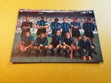 INTER FC, 1967-1968, TEAM PHOTO POSTCARD