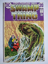 Vintage Old Collectible Comic Book Swamp Thing 1 -NM