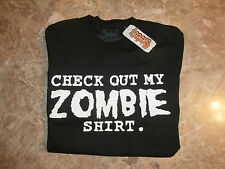 Spencer's T-Shirt - Brand New With Tags - Check Out My Zombie Shirt - Small