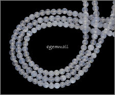 "15.5"" Blue Chalcedony Round Beads 4mm #59053"
