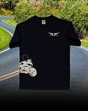 Honda Goldwing 1800 Trike Custom Tee Shirt... NAVY BLUE--WHITE Short  Sleeve