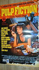 PULP FICTION ! quentin tarantino   affiche cinema rare