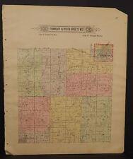 Missouri LaFayette County Map Sniabar Township 1897 Dbl Side   Q5#19