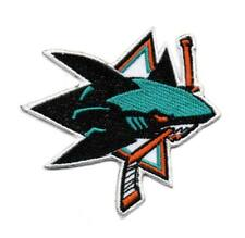 NHL San Jose Sharks P45 Embroidered Iron on Patch Badge High Quality Hat Jacket