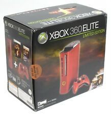 NEW SEALED Xbox 360 Elite Resident Evil 5 Elite 120GB Red Console Bundle