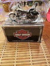 Harley Davidson 1:18 die cast metal Maisto 1993 FLSTN Heritage Softail Nostalgia