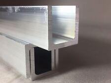 Aluminium U Channel Profile 15mm x 15mm x 2mm x 2000mm LONG     Give Best Offers