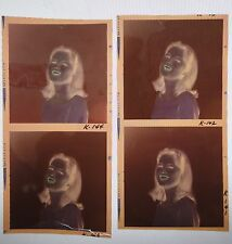 4 Vintage Original Color Negatives of Paula Prentiss ~ 2.25""