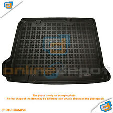 Rubber Boot Mat RENAULT DACIA DUSTER 4x4 2010-onwards