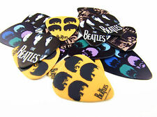 10pcs 1.0mm The Beatles 4 types Guitar Picks Plectrums Printed Both Sides