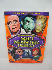 Mad Monster Party Special Edition DVD fair condition with slipcover Rankin Bass