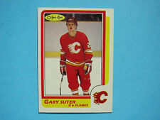 1986/87 O-PEE-CHEE NHL HOCKEY CARD #189 GARY SUTER ROOKIE EX/NM SHARP+ 86/87 OPC