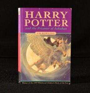 1999 Harry Potter and the Prisoner of Azkaban J K Rowling 1st Edition 1st Pri...
