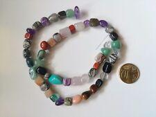 Hilo 40 cm mezcla piedras naturales con 51 UNIDADES collar abalorios