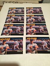 1993 Upper Deck Mike Piazza RC (8) Card Lot Up Close & Personal M/NM Look👀