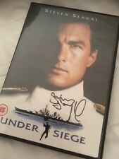 Steven Seagal Hand Signed Under Siege Dvd Sleeve Autograph Proof