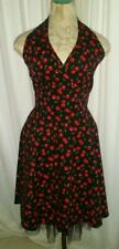 NWT Morbid Threads S Black Cherry Tulle Retro Tulle Dress Hot Topic Rockabilly