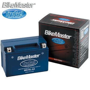 BIKEMASTER TruGel MOTORCYCLE Battery 1987 BUELL RR1000