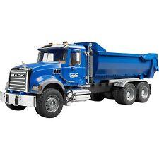 bruder MACK Granite Halfpipe Kipp-LKW, Modellfahrzeug, blau