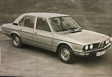 Rare Dossier De Presse 1972 BMW 520 !!!!