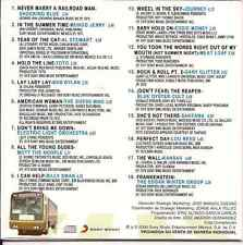 CD 70's Perfect Day LOU REED year of the cat AL STEWART Toto BOB DYLAN Journey