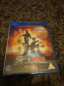 Spy Kids 4 - All the Time in the Word (Blu-ray 3D, 2011) NEW AND SEALED