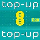 EE - £20 - Pay as You Go - Mobile phone Top Up Code / Voucher