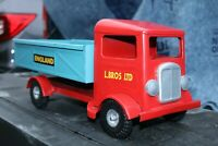 Triang Dump Delivery Truck Line Bros - Pressed Steel - England - repainted