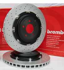 2 pz BREMBO DISCHI FRENO 09.9477.23 AUDI RS4 B7 / RS 4 quattro-ORIGINALE BREMBO!