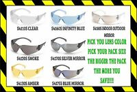 1 - 144 PAIR  PYRAMEX INTRUDER SAFETY GLASSES ANSI Z87+ COMPLIANT YOU PICK PACK