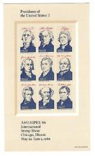 Scott #2216....22 Cent...Presidents I.... Sheet of 9