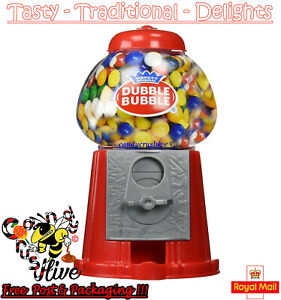 Gumball Vending Machine Gum Dispenser Toy Coin Bank 80g Bubble Gum Included