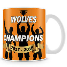 Wolves Champions 2017 - 2018 Coffee Mug - Makes an Ideal Gift