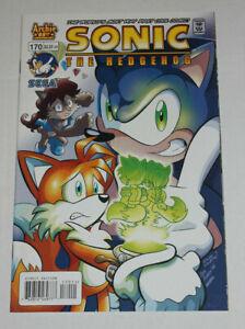 SONIC The HEDGEHOG Comic Book #170 February 2007  NM+ 9.6