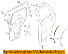 NISSAN OEM Rear Door-Protector Left 828933JA0B