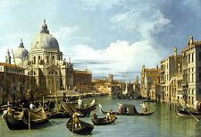 The Entrance to the Grand Canal Venice 1730 by Canaletto Old Masters 13x19 Prnt