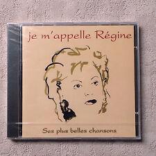 """CD AUDIO/ RÉGINE """"JE M'APPELLE RÉGINE"""" SES PLUS BELLES CHANSONS CD PROMO 19T"""