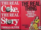 2 COCA-COLA BOOKS, 1986 & 2004 (THE REAL COKE, THE REAL STORY & THE REAL THING