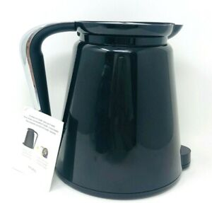 Keurig 2.0 Thermal Replacement 32oz Replacement Carafe K Cup Pod Black Chrome